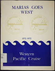 Page 1, 1973 Edition, Marias (AO 57) - Naval Cruise Book online yearbook collection