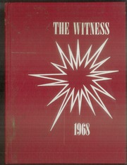 1968 Edition, Baptist Christian Academy - Witness Yearbook (Shreveport, LA)