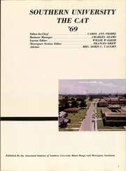 Page 3, 1969 Edition, Southern University - Jaguar Yearbook (Baton Rouge, LA) online yearbook collection