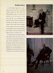 Page 6, 1969 Edition, Southern University - Jaguar Yearbook (Baton Rouge, LA) online yearbook collection