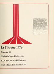 Page 3, 1976 Edition, Nicholls State University - La Pirogue Yearbook (Thibodaux, LA) online yearbook collection