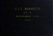1952 Edition, Marquette (AKA 95) - Naval Cruise Book