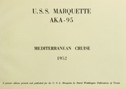 Page 5, 1952 Edition, Marquette (AKA 95) - Naval Cruise Book online yearbook collection