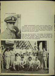 Page 10, 1971 Edition, Mars (AFS 1) - Naval Cruise Book online yearbook collection