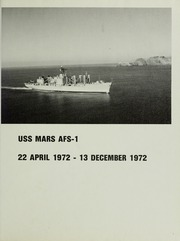 Page 5, 1972 Edition, Mars (AFS 1) - Naval Cruise Book online yearbook collection