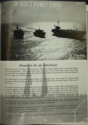 Page 5, 1987 Edition, Mars (AFS 1) - Naval Cruise Book online yearbook collection