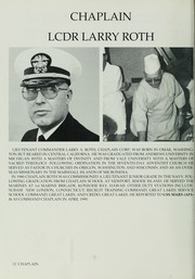 Page 16, 1991 Edition, Mars (AFS 1) - Naval Cruise Book online yearbook collection