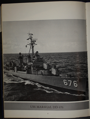 Page 6, 1963 Edition, Marshall (DD 676) - Naval Cruise Book online yearbook collection