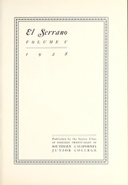 Page 7, 1928 Edition, La Sierra College - Meteor Yearbook (Arlington, CA) online yearbook collection