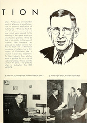 Page 9, 1947 Edition, La Sierra College - Meteor Yearbook (Arlington, CA) online yearbook collection