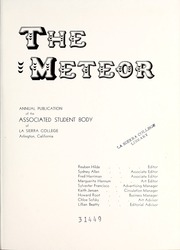 Page 5, 1949 Edition, La Sierra College - Meteor Yearbook (Arlington, CA) online yearbook collection