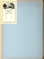 Page 2, 1951 Edition, La Sierra College - Meteor Yearbook (Arlington, CA) online yearbook collection