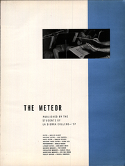 Page 5, 1957 Edition, La Sierra College - Meteor Yearbook (Arlington, CA) online yearbook collection