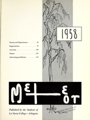 Page 5, 1958 Edition, La Sierra College - Meteor Yearbook (Arlington, CA) online yearbook collection