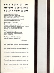Page 9, 1960 Edition, La Sierra College - Meteor Yearbook (Arlington, CA) online yearbook collection