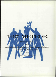 Page 7, 1967 Edition, La Sierra College - Meteor Yearbook (Arlington, CA) online yearbook collection
