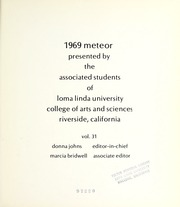 Page 5, 1969 Edition, La Sierra College - Meteor Yearbook (Arlington, CA) online yearbook collection