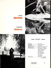 Page 9, 1972 Edition, La Sierra College - Meteor Yearbook (Arlington, CA) online yearbook collection