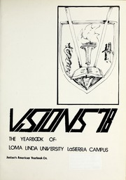 Page 5, 1978 Edition, La Sierra College - Meteor Yearbook (Arlington, CA) online yearbook collection