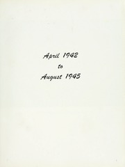 Page 11, 1945 Edition, Massachusetts (BB 59) - Naval Cruise Book online yearbook collection