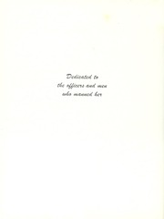 Page 8, 1945 Edition, Massachusetts (BB 59) - Naval Cruise Book online yearbook collection