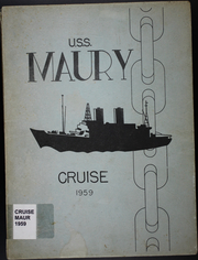 1959 Edition, Maury (AGS 16) - Naval Cruise Book