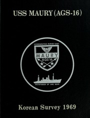 1969 Edition, Maury (AGS 16) - Naval Cruise Book