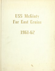 Page 1, 1962 Edition, McGinty (DE 365) - Naval Cruise Book online yearbook collection