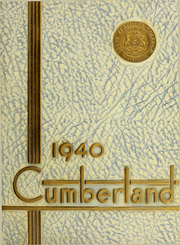 1940 Edition, Shippensburg University - Cumberland Yearbook (Shippensburg, PA)