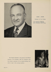 Page 11, 1953 Edition, Shippensburg University - Cumberland Yearbook (Shippensburg, PA) online yearbook collection