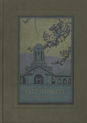 Page 1, 1917 Edition, Carnegie Mellon University - Thistle Yearbook (Pittsburgh, PA) online yearbook collection
