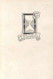 Page 5, 1917 Edition, Carnegie Mellon University - Thistle Yearbook (Pittsburgh, PA) online yearbook collection