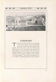 Page 9, 1917 Edition, Carnegie Mellon University - Thistle Yearbook (Pittsburgh, PA) online yearbook collection