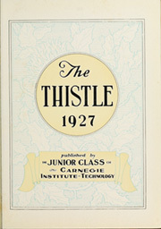 Page 7, 1927 Edition, Carnegie Mellon University - Thistle Yearbook (Pittsburgh, PA) online yearbook collection