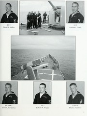 Page 17, 2003 Edition, McInerney (FFG 8) - Naval Cruise Book online yearbook collection