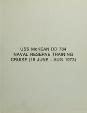 Page 3, 1973 Edition, McKean (DD 784) - Naval Cruise Book online yearbook collection