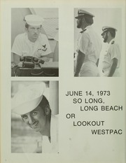 Page 8, 1973 Edition, McKean (DD 784) - Naval Cruise Book online yearbook collection