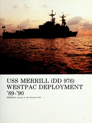 Page 5, 1990 Edition, Merrill (DD 976) - Naval Cruise Book online yearbook collection