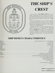 Page 7, 1991 Edition, Merrill (DD 976) - Naval Cruise Book online yearbook collection