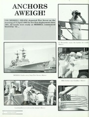 Page 10, 1995 Edition, Merrill (DD 976) - Naval Cruise Book online yearbook collection