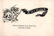 Page 5, 1901 Edition, University of Denver - Kynewisbok Yearbook (Denver, CO) online yearbook collection