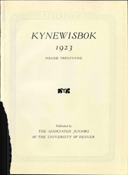 Page 7, 1923 Edition, University of Denver - Kynewisbok Yearbook (Denver, CO) online yearbook collection