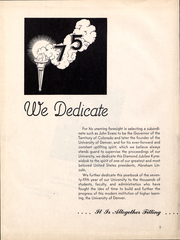 Page 5, 1939 Edition, University of Denver - Kynewisbok Yearbook (Denver, CO) online yearbook collection
