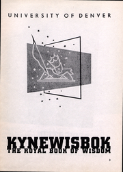 Page 3, 1941 Edition, University of Denver - Kynewisbok Yearbook (Denver, CO) online yearbook collection