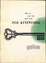 Page 10, 1950 Edition, University of Denver - Kynewisbok Yearbook (Denver, CO) online yearbook collection
