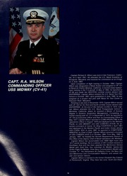 Page 14, 1987 Edition, Midway (CV 41) - Naval Cruise Book online yearbook collection