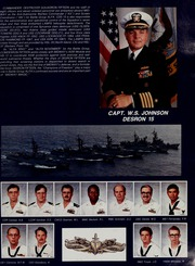 Page 21, 1987 Edition, Midway (CV 41) - Naval Cruise Book online yearbook collection