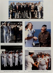 Page 31, 1987 Edition, Midway (CV 41) - Naval Cruise Book online yearbook collection
