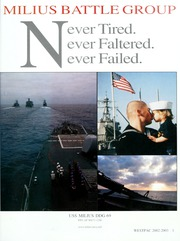 Page 5, 2003 Edition, Milius (DDG 69) - Naval Cruise Book online yearbook collection
