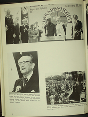 Page 12, 1978 Edition, Mississippi (CGN 40) - Naval Cruise Book online yearbook collection